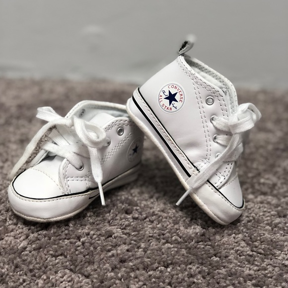 3c8abb9989455 Converse Other - White baby converse sneakers